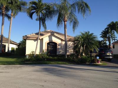 Boynton Beach Single Family Home For Sale: 10509 S Lexington Circle S