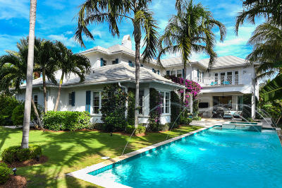 Palm Beach Single Family Home For Sale: 202 Plantation Road