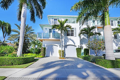 Delray Beach Townhouse For Sale: 1011 Ingraham Avenue #A