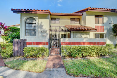 Boynton Beach Condo For Sale: 10899 Palm Lake Ave #101