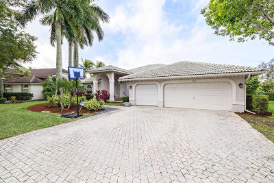 Coral Springs Single Family Home For Sale: 4887 Kensington Circle