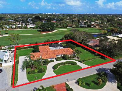Tequesta Single Family Home For Sale: 74 Golfview Drive