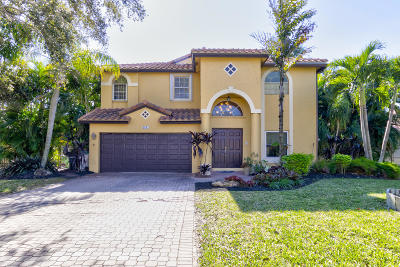 Coconut Creek FL Single Family Home For Sale: $489,000