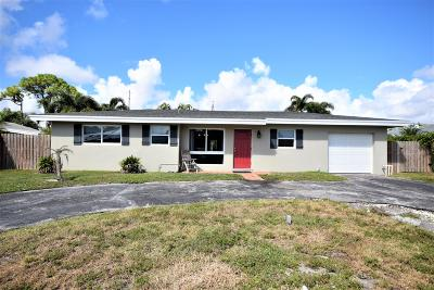 Boca Raton FL Single Family Home For Sale: $399,900