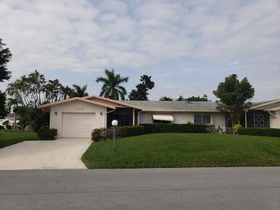 Delray Beach Single Family Home For Sale: 13646 Whippet Way E