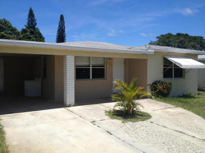 Lake Worth Single Family Home For Sale: 1526 18th Avenue