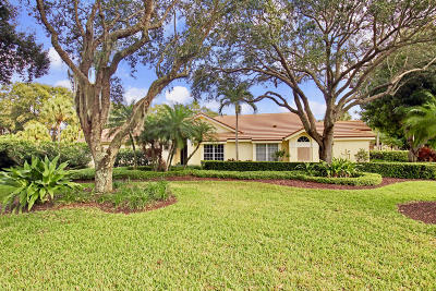 Jupiter Single Family Home For Sale: 3991 Shearwater Drive