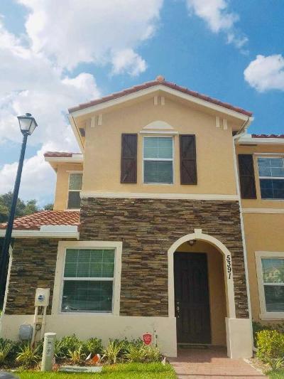 West Palm Beach Rental For Rent: 5391 Ellery Terrace
