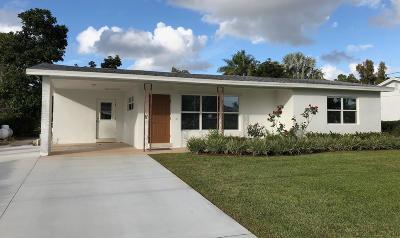 Lake Worth, Lakeworth Single Family Home For Sale: 2623 Northside Drive