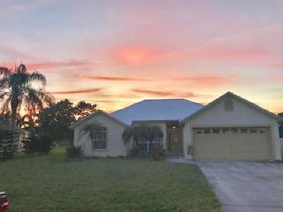 Port Saint Lucie Single Family Home For Sale: 2570 SE West Blackwell Drive