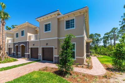 Hobe Sound Townhouse For Sale: 6263 SE Portofino Circle #13-1301