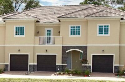 Hobe Sound Townhouse For Sale: 6160 SE Portofino Circle #3-303