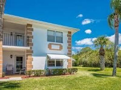Fort Pierce Condo For Sale: 134 Lakes End Drive #D-2