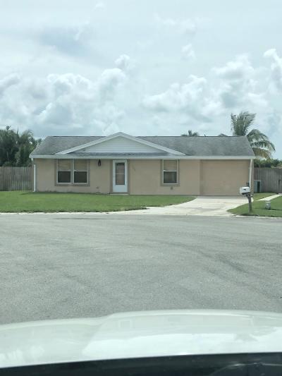 Royal Palm Beach Single Family Home For Sale: 1396 Elmbank Way E