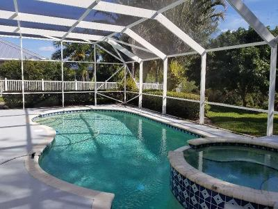 Hobe Sound Single Family Home For Sale: 5380 SE Acadia Terrace