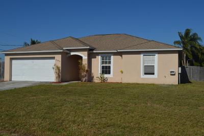 Port Saint Lucie Single Family Home For Sale: 785 SW Lakehurst Drive