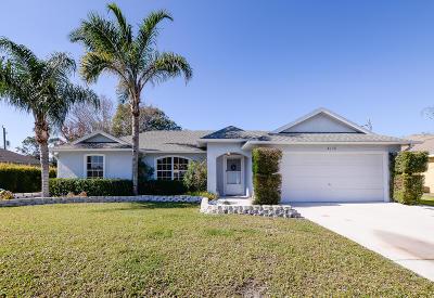 Port Saint Lucie Single Family Home For Sale: 4110 SW Endicott Street