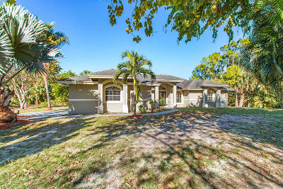Loxahatchee Single Family Home For Sale: 16835 62nd Road