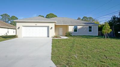 Port Saint Lucie Single Family Home For Sale: 1311 SW Aachen Avenue
