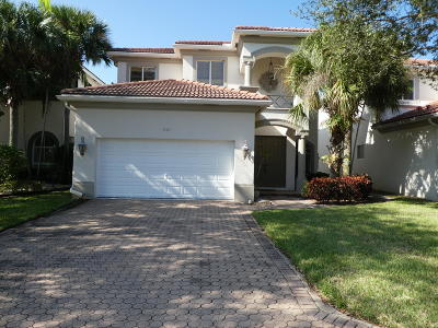 Boynton Beach Single Family Home For Sale: 7109 Old Orchard Way