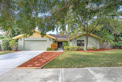 Boca Raton Single Family Home For Sale: 17587 Weeping Willow Trail