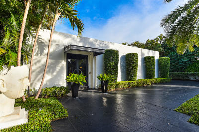 Palm Beach Single Family Home For Sale: 505 S County Road