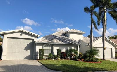 West Palm Beach Single Family Home For Sale: 2535 Egret Lake Drive