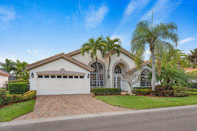 Palm Beach Gardens Single Family Home For Sale: 151 Bent Tree Drive