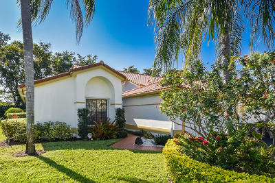 Boca Raton Single Family Home Contingent: 10752 Ladypalm Lane #A