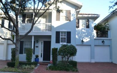 Delray Beach Townhouse For Sale: 1027 E Heritage Club Circle #1027