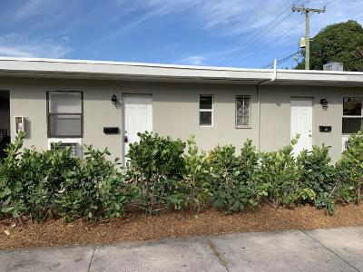West Palm Beach Rental For Rent: 3300 Broadway Avenue #6