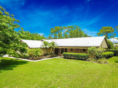 Martin County Single Family Home For Sale: 3591 SW Bimini Circle