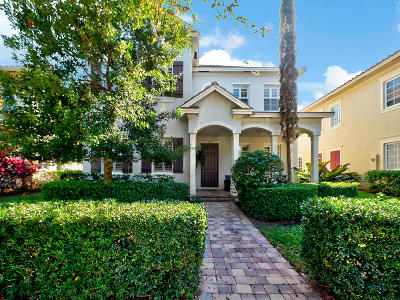 Jupiter Single Family Home For Sale: 162 Bandon Lane