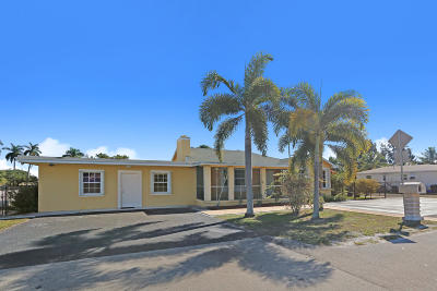 Lake Worth, Lakeworth Single Family Home For Sale: 4212 Coconut Road