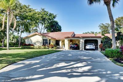 Boynton Beach Single Family Home For Sale: 5980 Forest Grove Drive #1