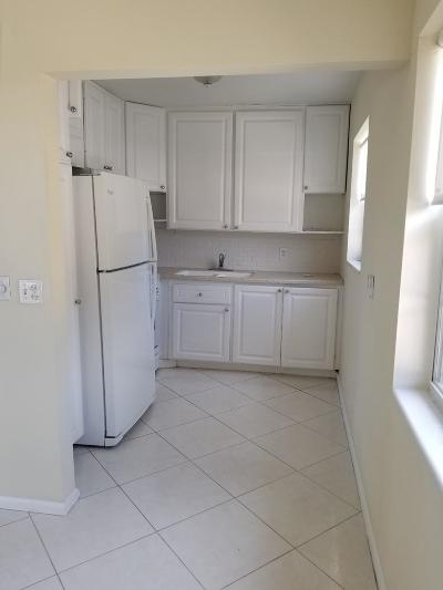 West Palm Beach Rental For Rent: 97 Canterbury D #D