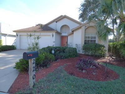 Greenacres Single Family Home For Sale: 2201 Soundings Court