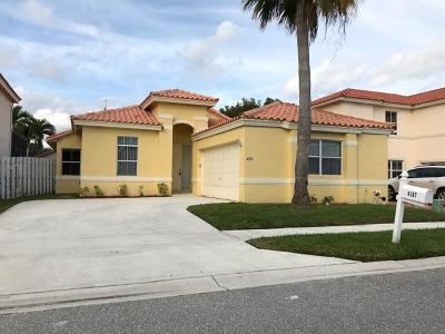 Lake Worth, Lakeworth Rental For Rent: 6587 Constance Street