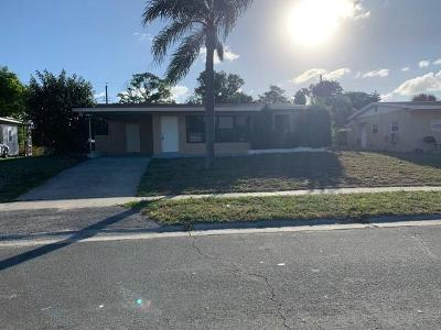 West Palm Beach Rental For Rent: 1306 8th Street