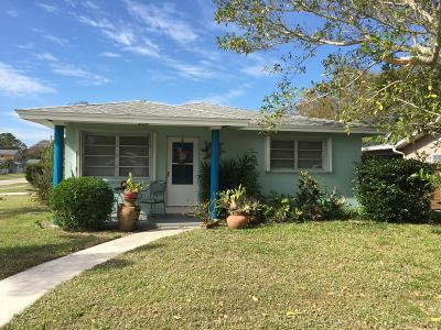 Fort Pierce Single Family Home For Sale: 2731 Fairway Drive