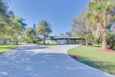 Lake Worth Single Family Home For Sale: 10780 Anderson Lane