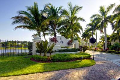 Palm Beach Gardens Rental For Rent: 4712 Artesa Way E