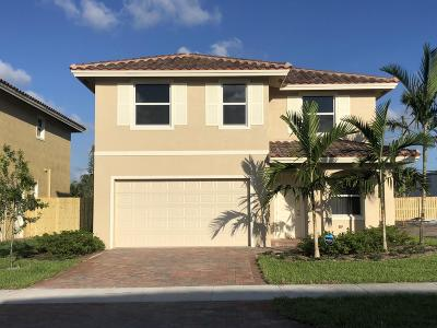 Greenacres Single Family Home For Sale: 3916 La Rambla