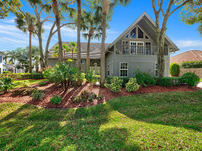 Tequesta Single Family Home For Sale: 8764 SE North Passage Way