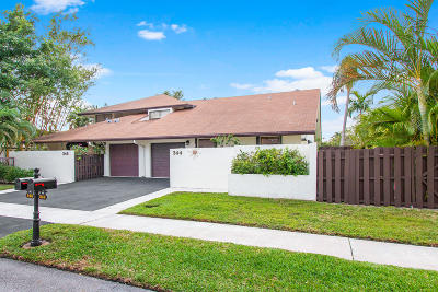 Delray Beach Single Family Home For Sale: 344 SW 27th Terrace