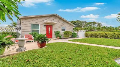 West Palm Beach Single Family Home For Sale: 732 McIntosh Street