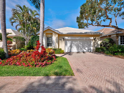 Palm Beach Gardens Single Family Home For Sale: 118 Victoria Bay Court