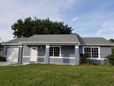 Port Saint Lucie Single Family Home For Sale: 1625 SW Janette Avenue
