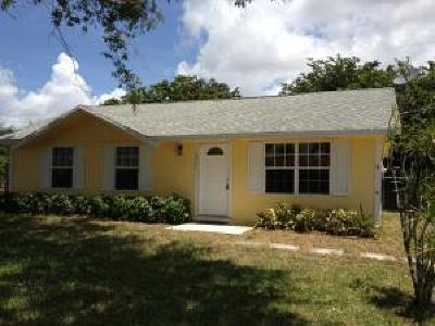 Lake Worth, Lakeworth Single Family Home For Sale: 4820 Banquet Way