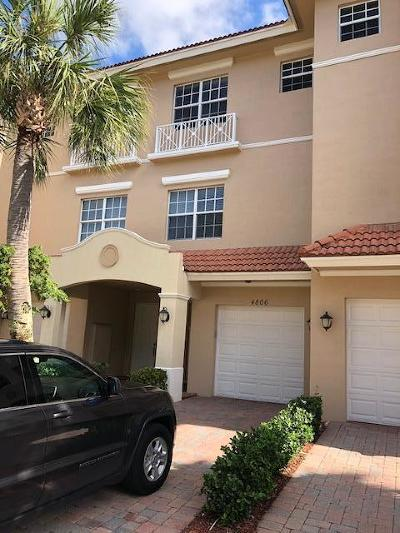 Palm Beach Gardens Rental For Rent: 4806 Sawgrass Breeze Drive